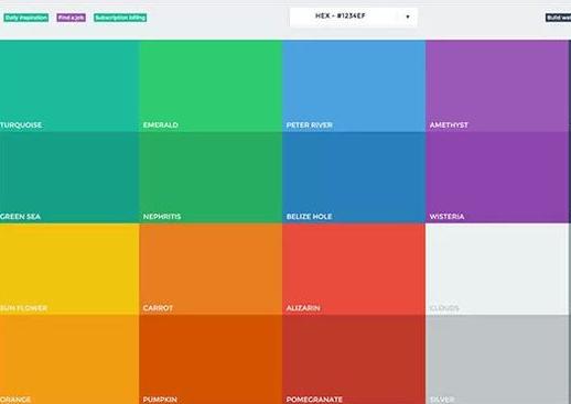 企业网站的配色原则有哪些?